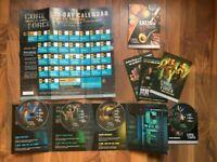 Beachbody Core De Force fitness discs complete set