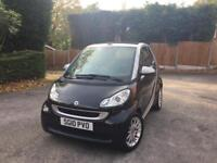2010 Smart For Two Convertible (RARE DIESEL) Loads of Extras, Low Mileage