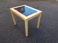 Solid Wood & Granite Insert Table FREE DELIVERY 388