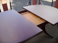 Retro extending dining table for 8 seater, brilliant condition, made by Nathan Furniture in 1960's.