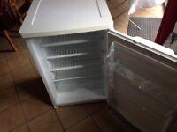 White larder fridge