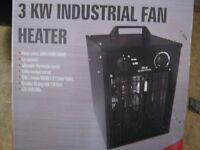industrial Fan Heater 240v / 3kw