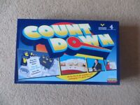 Countdown board game (never used)