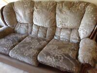 Sofa and two armchairs - collection from Cookridge, Leeds