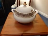 Royal Doulton Sovereign Soup or Veg Tureen - perfect condition
