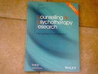 Counselling and Psychotherapy Research Journals 2011 - 2015