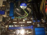 I5 3570, MSI Z77A-G43, 16gb Vengeance 1600mhz, CX600 PSU - Gaming PC Parts