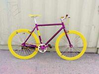 New NOLOGO Aluminium single speed & fixie bike/ road bicycles + 1year warranty 15wq