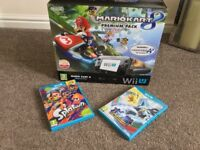 Nintendo Wii U 32GB Console plus 2 games Pre-owned Excellent condition