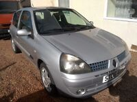 renault clio 1149cc silver 06 plate 350 no offers needs 1 coilpack