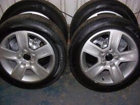 AUDI alloys & tyres