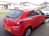 2009 (59). vauxhall corsa 1.0 life .3 door hatchback.*full service records 63000 mies*