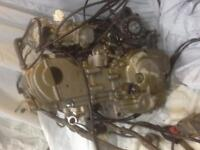 2004 Crf 250x engine and wiring $1500 obo