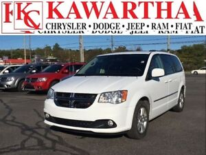 2017 Dodge Grand Caravan CREW*LEATHER*BACKUP CAM*HEATED SEATS*