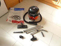 Twin Speed Henry Vacuum cleaner by Numatic - Brand new tools ect.