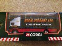 Corgi Eddie stobart express road haulage truck
