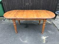 Pine Dining Table ( Can Deliver )