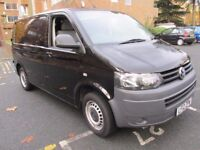 VW Transporter T28 102PS in Black with Air Con NO VAT