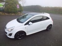 Mint 2012 Vauxhall Corsa 1.2 Limited Edition VXR styling ,trade in considered,credit cards accepted