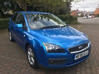 Ford Focus 1.6 Zetec Climate 5dr AUTOMATIC Low mileage, 2005 in Blue
