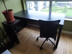 Ikea Desk - with chair (optional)