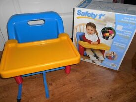 Grow with me portable booster seat