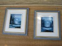 2 Beautiful Framed Oil Paintings by C Peter