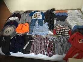 63 items Used boys clothes bundle 18-24 months