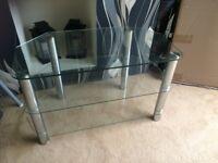 Glass TV Stand **BARGAIN PRICE***