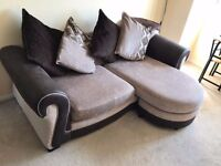 2 seater fabric sofa for sale great condition