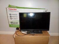 """Toshiba colour tv 24"""""""