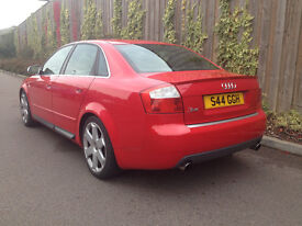 2004 AUDI S4 4.2 QUATTRO 4 DR SALOON 6 SPEED MANUAL 79K full SERVICE HISTORY