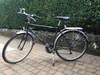 "Ridgeback, Java, mens 21"" bicycle. Good condition."
