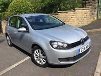 2011 61 VOLKSWAGEN GOLF 1.6 MATCH TDI BLUEMOTION TECHNOLOGY DSG 5D AUTO 105 BHP .FSH