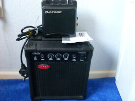Stagg Ca-10 and DJ-Tech Practice Amps