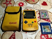 Nintendo Gameboy Color Pokemon Edition with 2 Games