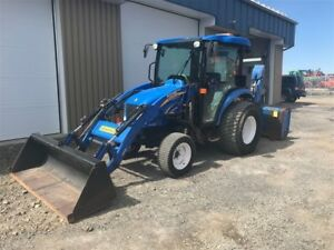 2014 New Holland BOOMER 3045 Location/lease $494.00 +taxes