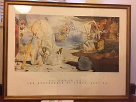 Large Dali picture 85x65cm