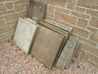 Free slabs, all used, different sizes