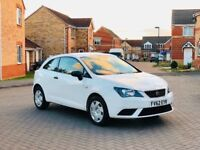 2013 SEAT IBIZA SPORTS COUPE 1.2 PETROL 12 MONTH MOT, FULL SERVICE HISTORY, 30 K MILEAGE, HPI CLEAR