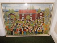 Print by Stina Sunesson very good condition