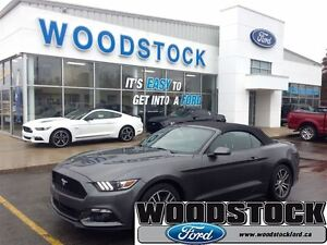 2015 Ford Mustang EcoBoost Premium, LEATHER