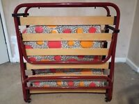 Metal fold-up single bed for sale in Southmead, Bristol