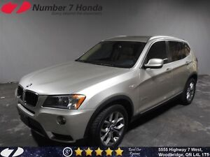 2013 BMW X3 xDrive28i| Loaded, Leather, All-Wheel Drive!