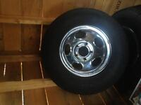 Dodge /ford truck wheels great for winter