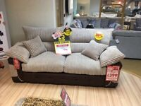 2 seater sofa loose cushions about 3 years old