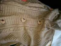 Used Pure Wool long cardigan for sale,