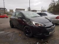 Vauxhall corsa e new shape 2015 special edition low mileage