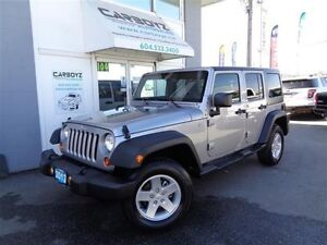 2013 Jeep Wrangler Unlimited Sport 4X4, Automatic, Power Group