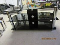 """42"""" TV stand in black"""